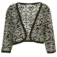 **Angie Aztec Jacket by Navy - Brands at Topshop - New In This Week  - New In
