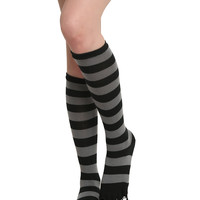 The Nightmare Before Christmas Striped Toe Socks