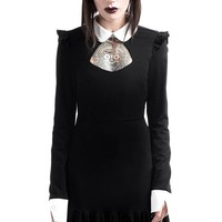 Mystic Mia Collar Dress [B]