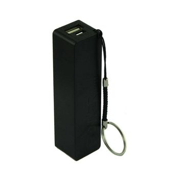 Portable Power 18650 External Backup Battery Charger With Key Chain Car Electronics Gadgets