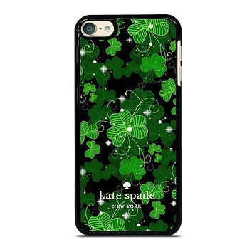 KATE SPADE GREEN LEAFS iPhone Case