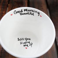 Will You Marry Me Coffee Mug, Unique Proposal Ideas