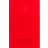 Red Frosted Transparent Soft Case for iPhone 5 & 5s