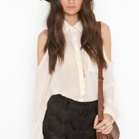 Camilla Fringe Shorts - Black in  What's New at Nasty Gal