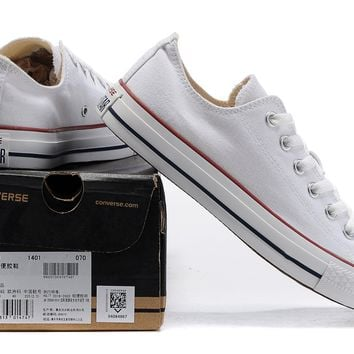 Converse Men's and Women's Classic Chuck Taylor All Star Ox Low Top Sneakers
