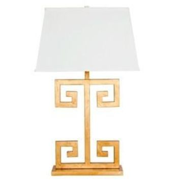The Clayton Lamp | Gold