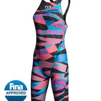 TYR Avictor Prelude Female Open Back Kneeskin at SwimOutlet.com - Free Shipping