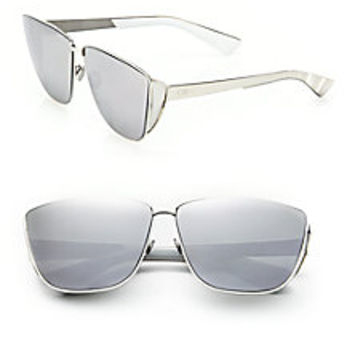 Dior - Futuristic 66MM Square Sunglasses - Saks Fifth Avenue Mobile