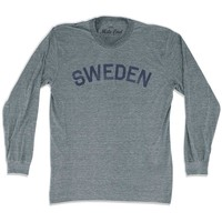 Sweden City Vintage Long Sleeve T-shirt