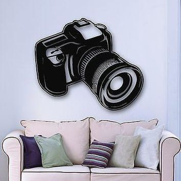 Wall Stickers Vinyl Decal Camera Photo Art Photographer Cool Decor Unique Gift ig875
