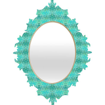 Ingrid Padilla Beauty Blue Baroque Mirror