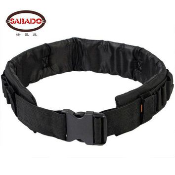 CREYLD1 SABADO Tactical Nylon Pellet Belt  25 Round Bullet  Combat Belt for 12/20 GA Carrier Waist Belt Shooting Belt
