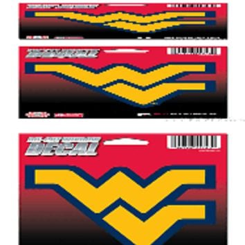 "West Virginia Mountaineers 5"" Vinyl Die Cut Decal Sticker Emblem University of"