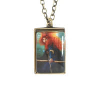 Disney Brave Merida Pendant Necklace