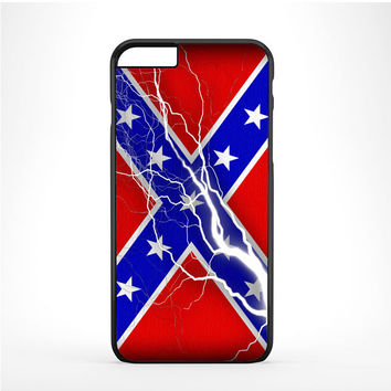 Confederate Rebel Flag Thunder Iphone 6 Plus | 6s Plus Case