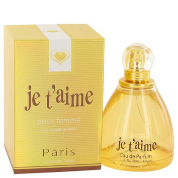 Je T'aime by YZY Perfume Eau De Parfum Spray 3.3 oz