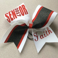 Senior or any grade with year Cheer Bow