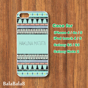 HTC one M7 Case,Aztec,Hakuna Matata,HTc one case,HTc one S Case,HTc one X Case,HTC one mini case,HTC one phone case