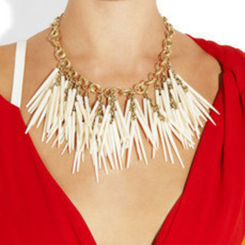 Ashley Pittman | Kumweka horn necklace | NET-A-PORTER.COM