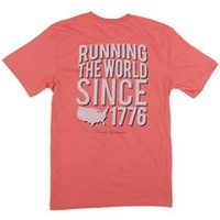 Rowdy Gentleman Running the World Pocket T-Shirt for Men SSP019-ADB