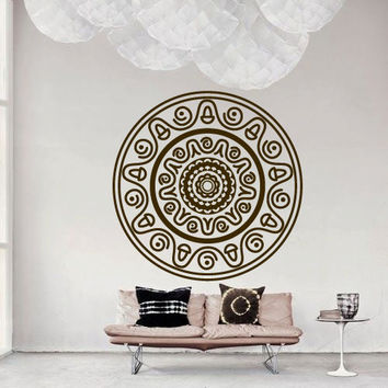 Wall Decor Vinyl Sticker Room Decal Ornament Abstract Mexican Symbol Sign Art Culture (s238)