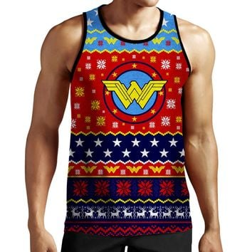 Wonder Woman Christmas Tank Top