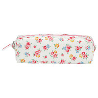 Buy Cath Kidston Freston Rose Pencil Case, White/Multi online at John Lewis