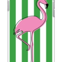 Flamingo in Aruba Phone Case