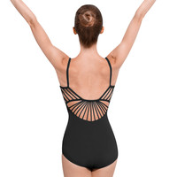 Adult Rouleaux Back Camisole Leotard