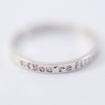 Undertale Determination Ring
