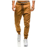Men's Basic Solid Color Joggers