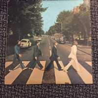 BEATLES**ABBEY ROAD **VINYL RECORD MUSIC VINTAGE