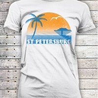 St Pete Retro Tee