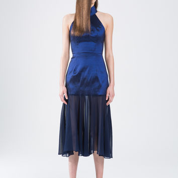 Asilio - Turning Tables Dress (Obsidian Blue)