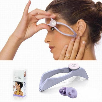 NEW Hair Epilator Threader System Facial Hair Removal Makeup Beauty Tools *35