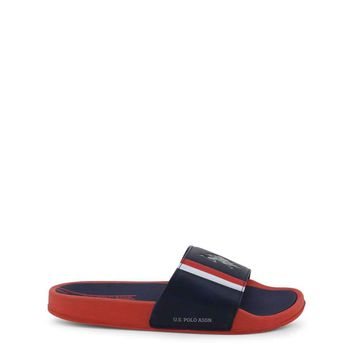 U.S. Polo Men Blue Flip Flops