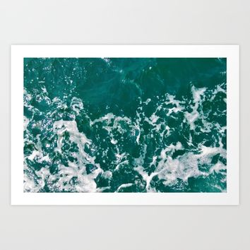 Emerald Art Print by ARTbyJWP