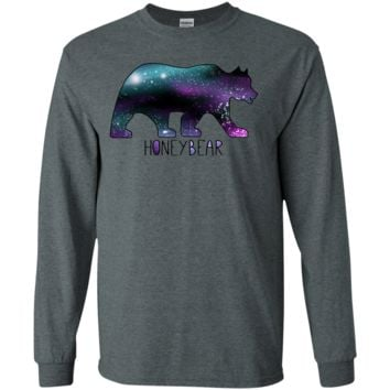Galaxy Waves Long Sleeve T-Shirt