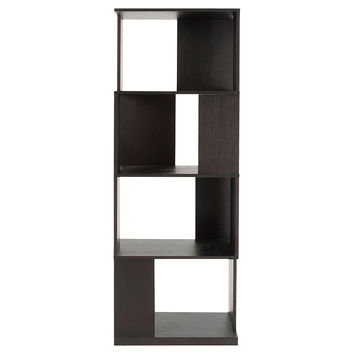 Cabrio Shelving Unit, Wenge, Bookcases & Bookshelves