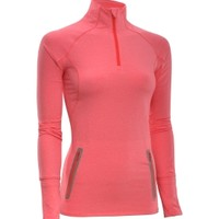 Under Armour Women's Storm Mélange Quarter Zip Long Sleeve Shirt