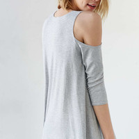 Kimchi Blue Tyra Cold Shoulder Top - Urban Outfitters