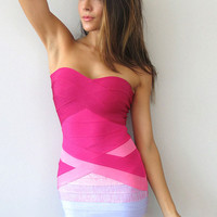 Rose Darling Bandage Dress