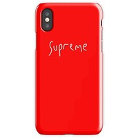 Supreme 1 Mobile Cover