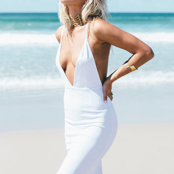 White Aries Maxi | SABO SKIRT