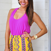 Summer Days Tank: Fuchsia | Hope's