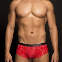 MOB Men's Lace Cheek Boxer