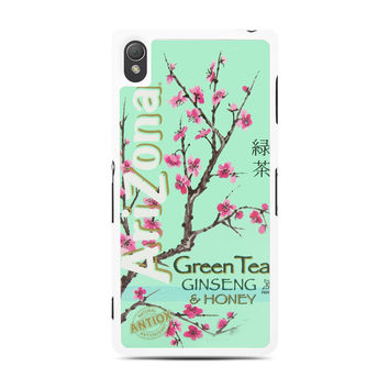 Arizona Green Tea SoftDrink Sony Experia Z3 Case