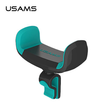 USAMS Car Holder for iPhone Sumsung Mobile Phone Holder Car Air Vent Mount Holder 360 Ratotable Mobile Phone Holders & Stands