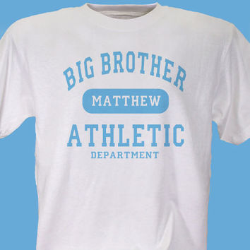 Big Brother Athletic Dept. Personalized Youth T-shirt