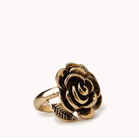 Burnished Rosette Ring